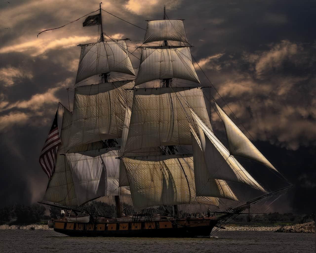 תמונה של ספינה