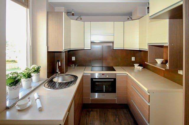 מטבח בדירה חדשה
