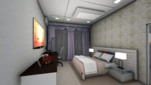 ספה מיטה ראשית